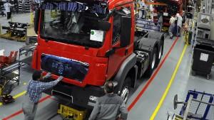 Volkswagen nimmt MAN an die kurze Leine