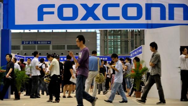 Foxconn hat 14-Jährige Arbeiter beschäftigt