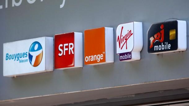 Ein neuer Mobilfunk-Gigant in Frankreich