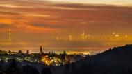 Schön,aber teuer: Kronberg im Taunus mit Blick auf Frankfurt