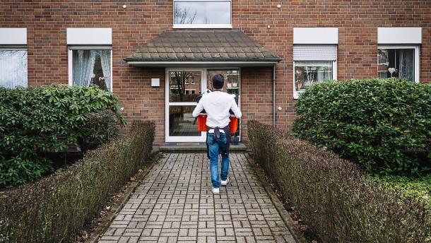 Online-Händler aus Holland liefert Lebensmittel bis an die Tür