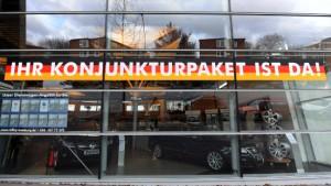 Steinmeier will Abwrackprämie verlängern