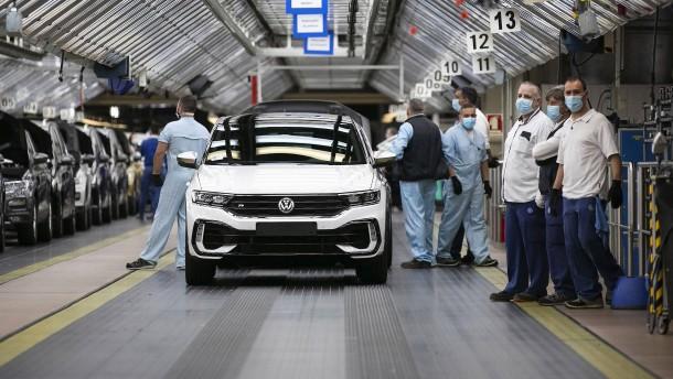Autoabsatz in der EU sinkt um 76 Prozent