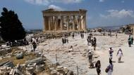 An der Akropolis in Athen wird weiter restauriert.