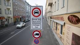 Mehr als 15.000 Verstöße gegen Fahrverbote gezählt