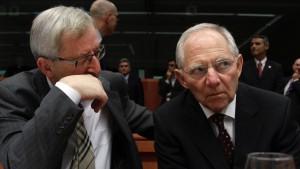 Hat Schäuble Strafen verhindert?