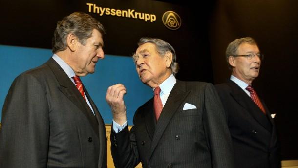 Ekkehard Schulz verlässt Thyssen und Krupp