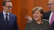 Möchte die Kanzlerin den Bundesbankpräsidenten Jens Weidmann an die Spitze der EZB bringen?