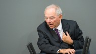 Schäuble rechnet mit expansiver Geldpolitik ab