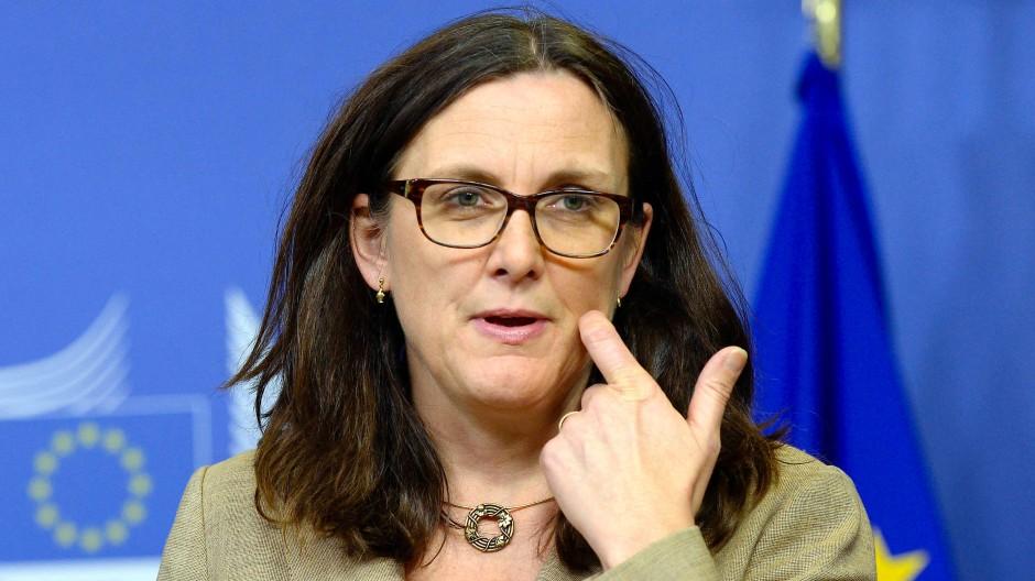 Handels-Kommissarin Cecilia Malmström