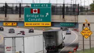 """Trump erwartet einen """"Deal"""" mit Kanada"""