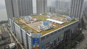Villas On The Top Of A Building In Zhuzhou