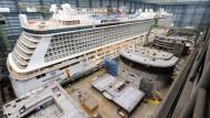 Europas Werften erhalten mehr Aufträge als Asiens
