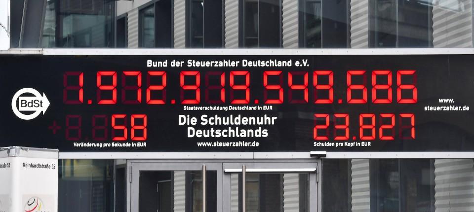 Schuldenuhr Deutschland Aktuell
