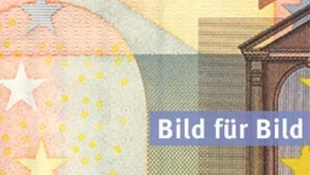 Sehen, fühlen, kippen - die Sicherheitsmerkmale des Euro