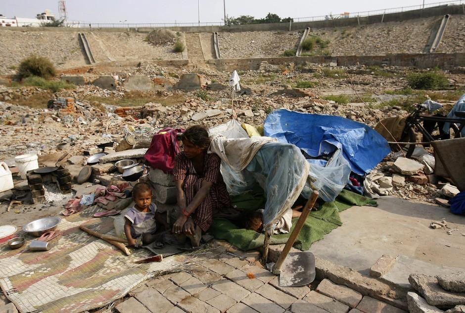 Armut Indien