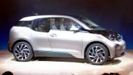 Am Montag wurde das Auto enthüllt - ab November soll der i3 im Handel sein.