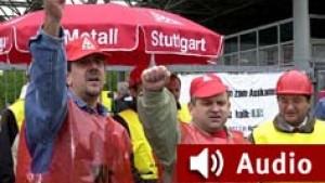 Streiks in der Metallindustrie haben großflächig begonnen
