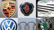 Die zehn Marken des VW-Porsche-Konzerns