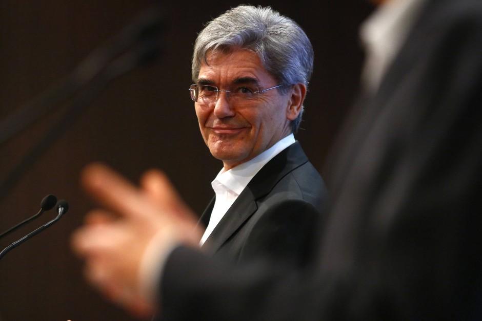 Begann 1980 seine Karriere bei Siemens: Joe Kaeser