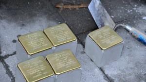 Stolpersteine sollen vor Bundestags-Gebäude verlegt werden
