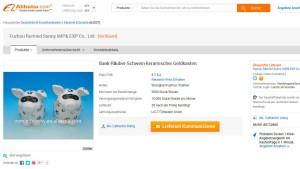 Alibaba und die Räuber-Schwein-Geldkasten