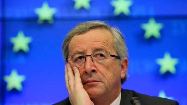 Juncker sieht keinen Engpass bei Euro-Rettung