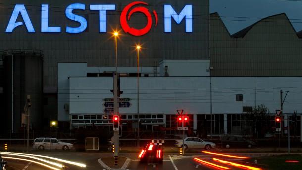 General Electric will angeblich Alstom kaufen