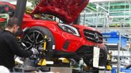 Produktion von Mercedes-Benz in Rastatt