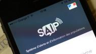 In Frankreich entwickelt, für Frankreich gemacht, in Frankreich versagt: Die Handy-App SAIP