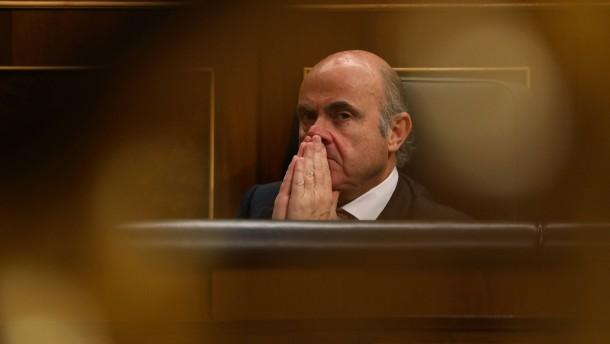 Spanischer Finanzminister wird EZB-Vizepräsident