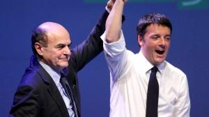 Italiens Mitte-Links-Chef erhält Konkurrenz aus eigenen Reihen