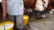 Aldi brüstet sich mit regionaler Bauernmilch