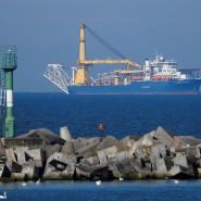 Die Akademik Cherskiy von Gasprom soll die Verlegearbeiten von Nord Stream 2 zu Ende bringen.