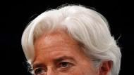 IWF-Chefin Christine Lagarde widersprach Vermutungen, dem IWF könne in der europäischen Schuldenkrise das Geld ausgehen