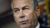 John Boehner war von 2011 bis 2015 Sprecher des Repräsentantenhauses.
