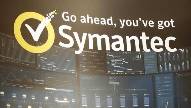 Symantec kauft Web-Sicherheitsfirma für 4,6 Milliarden