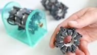 Ein Elektromotor aus Chemnitz, der in 3-D-Druck hergestellt wurde: Ein Kompetenzzentrum an der Technischen Universität bringt digitale Pioniere zusammen.
