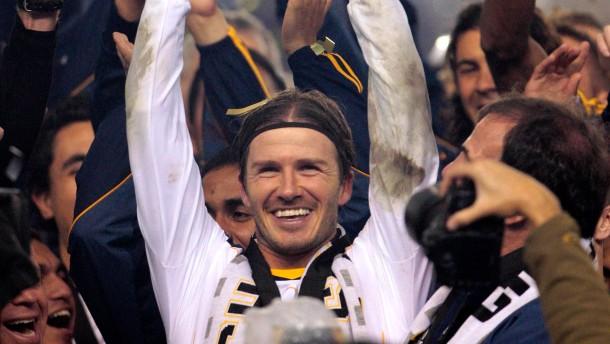 Beckham holt den Titel