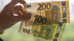 Weniger Falschgeld in Deutschland