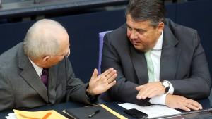 """Gabriel: Schäuble hat Europa in """"Scherbenhaufen"""" verwandelt"""