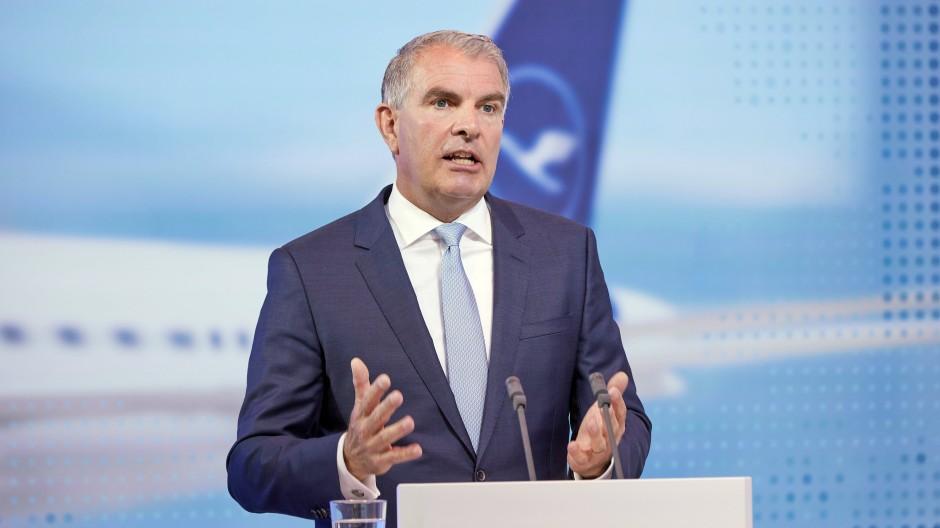 Lufthansa-Vorstandschef Carsten Spohr