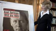 Zu Ehren des Verlagsgründers: Seine Frau Friede Springer denkt über ihren Tod hinaus