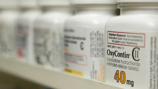 Konzern Purdue Pharma gesteht Schuld ein
