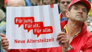 """""""Verschärfung des Konflikts"""" um Altersteilzeit"""