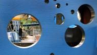 Es läuft nicht: Montagehalle eines Druckmaschinenherstellers in Würzburg