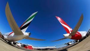 Qantas tauscht Frankfurt gegen die Emirate