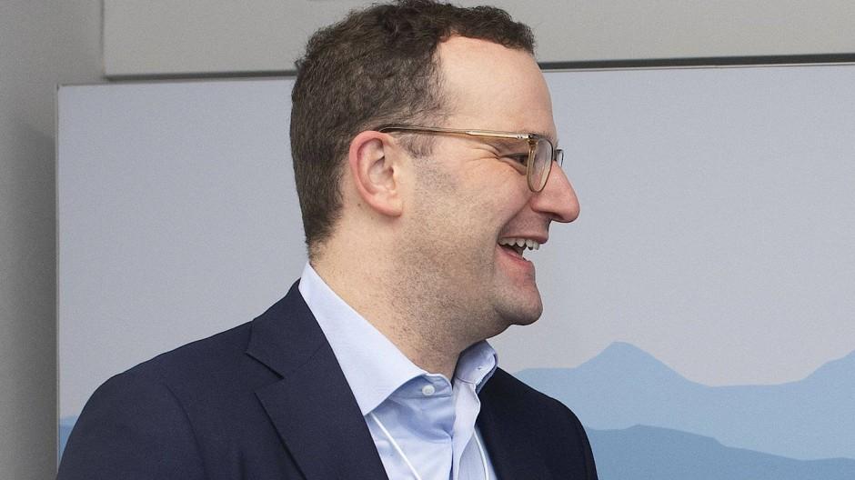 Jens Spahn (CDU) und der Schweizer Innenminister Alain Berset in Davos.