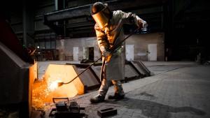 So denkt Deutschlands zweitgrößter Stahlhersteller über Zölle