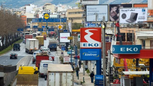 Die Griechen beginnen aus der Krise zu lernen